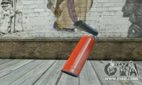 Extinguisher for GTA San Andreas