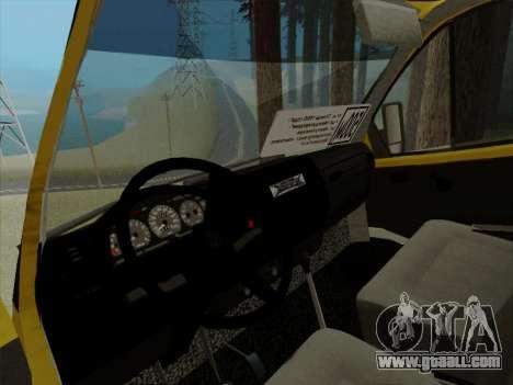 The active dashboard v 3.2.1 for GTA San Andreas sixth screenshot
