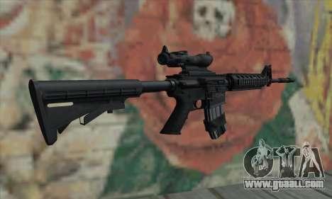 M4 RIS Acog Sight for GTA San Andreas second screenshot