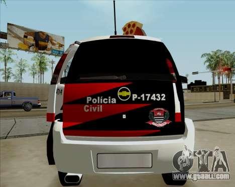 Chevrolet Meriva for GTA San Andreas right view