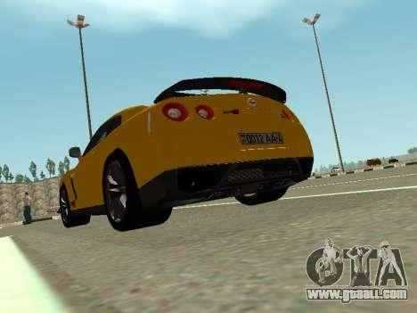 Nissan GT-R AMS Alpha 12 for GTA San Andreas left view