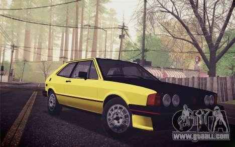 Volkswagen Scirocco S (Typ 53) 1981 IVF for GTA San Andreas