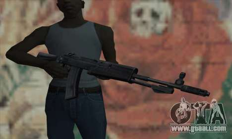 The AK47 of S.T.A.L.K.E.R. for GTA San Andreas third screenshot