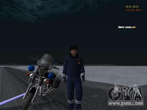 Pak DPS in a winter format for GTA San Andreas ninth screenshot