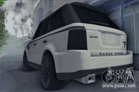 Land Rover Range Rover Sport for GTA San Andreas left view