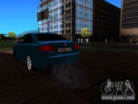 Volkswagen Jetta for GTA San Andreas left view
