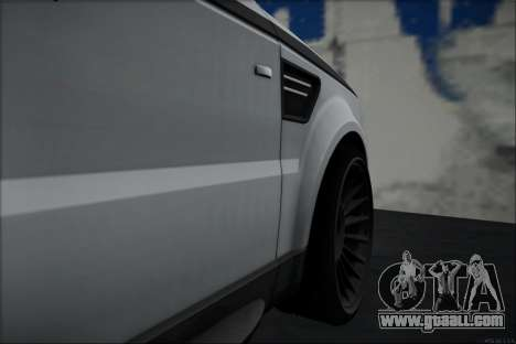Land Rover Range Rover Sport for GTA San Andreas back left view