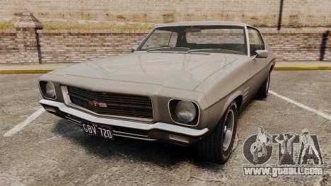 Holden Monaro GTS 1971 for GTA 4