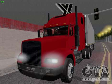 Freightliner FLD 120 for GTA San Andreas