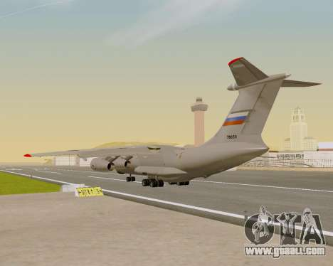 Il-76md-90 (IL-476) for GTA San Andreas inner view