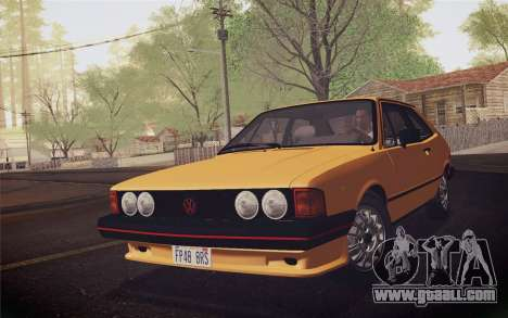 Volkswagen Scirocco S (Typ 53) 1981 IVF for GTA San Andreas left view