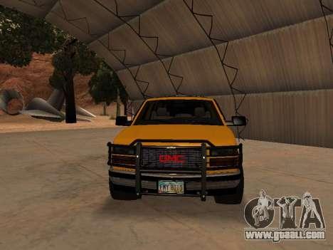 GMC Yukon for GTA San Andreas left view