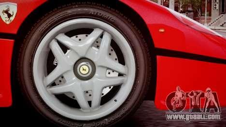 Ferrari F50 1995 for GTA 4 back left view