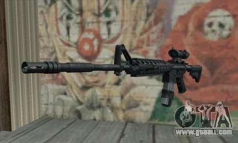 M4 RIS Acog Sight for GTA San Andreas