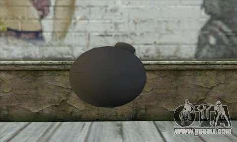 Pirate Grenade for GTA San Andreas second screenshot