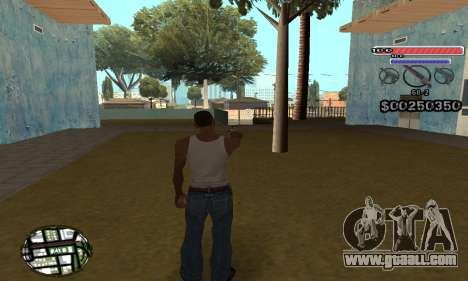 C-HUD v2 for GTA San Andreas second screenshot