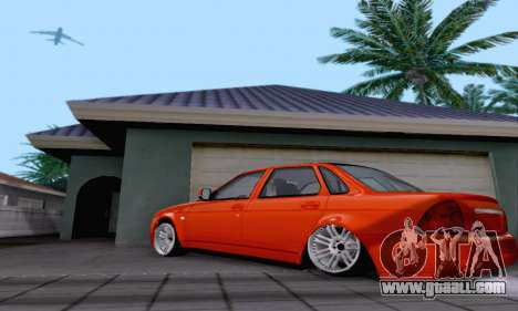 LADA 2170 for GTA San Andreas side view