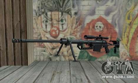 Black M200 Intervention for GTA San Andreas