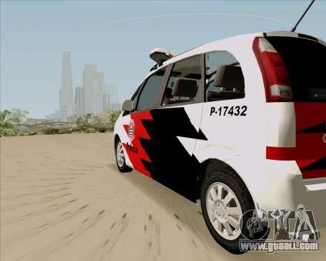 Chevrolet Meriva for GTA San Andreas left view