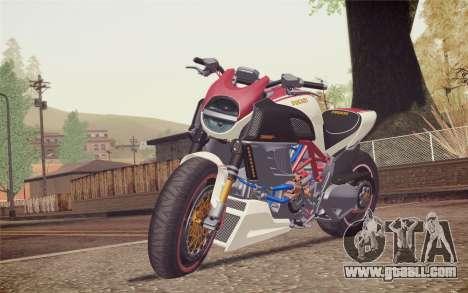 Ducati Diavel Carbon 2011 for GTA San Andreas