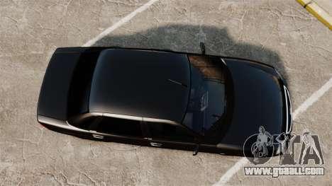 Vaz-2170 FBI for GTA 4 right view