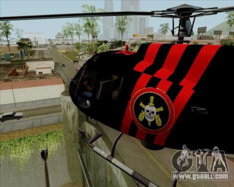 Sparrow BOPE for GTA San Andreas left view