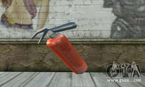 Extinguisher for GTA San Andreas second screenshot