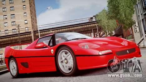 Ferrari F50 1995 for GTA 4 right view