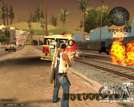 C-HUD CS:GO for GTA San Andreas third screenshot