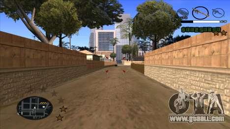 C-HUD by Djet for GTA San Andreas third screenshot