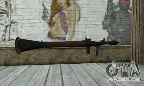 Rocket launcher for GTA San Andreas second screenshot