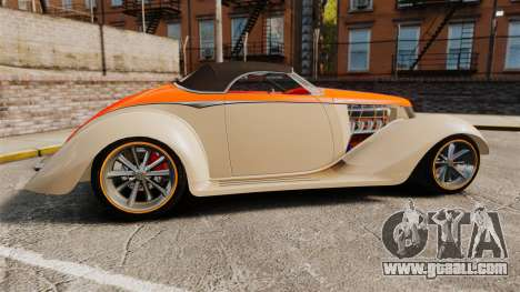 Ford Roadster 1936 Chip Foose 2006 for GTA 4 left view