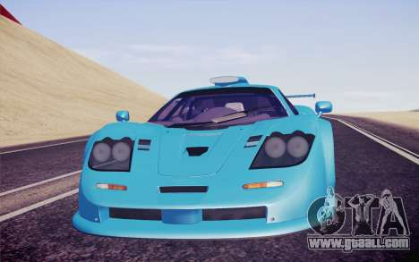 McLaren F1 GTR Longtail 22R for GTA San Andreas