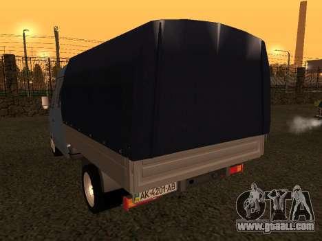 33023 GAZelle for GTA San Andreas