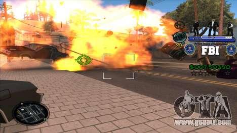 C-HUD FBI for GTA San Andreas third screenshot