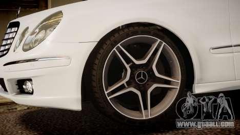 Mercedes-Benz E-Class Executive 2007 v1.1 for GTA 4 right view