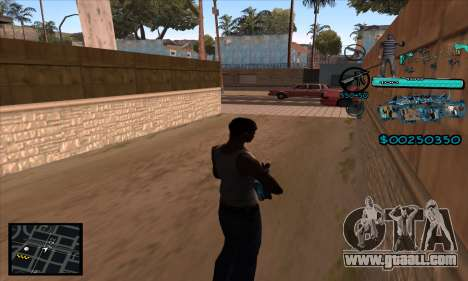 C-HUD Aztecas Gang for GTA San Andreas