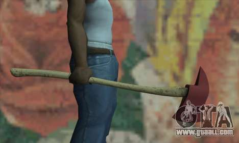 Axe of the L4D for GTA San Andreas third screenshot