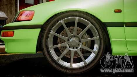 Honda CR-X for GTA 4 back left view