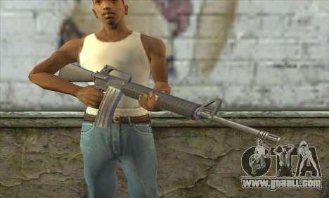 M4A1 из Postal 3 for GTA San Andreas third screenshot