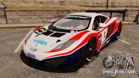 McLaren MP4-12C GT3 for GTA 4