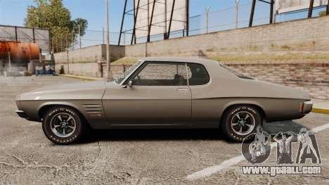 Holden Monaro GTS 1971 for GTA 4 left view