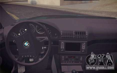 BMW M5 E39 528i Greenoxford for GTA San Andreas right view
