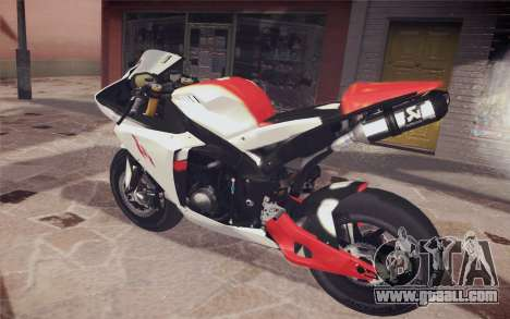 Yamaha YZF R1 for GTA San Andreas left view