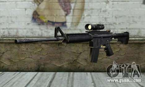 M4A1 Carbine Assault Rifle for GTA San Andreas