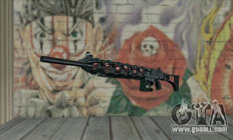 Gauss cannon of Stalker for GTA San Andreas