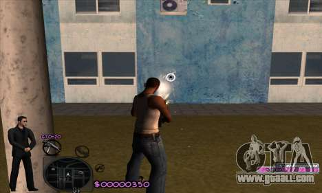 C-HUD Woozie for GTA San Andreas third screenshot