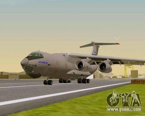 Il-76md-90 (IL-476) for GTA San Andreas left view