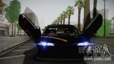 Nissan S15 Street Edition Djarum Black for GTA San Andreas inner view