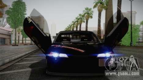 Nissan S15 Street Edition Djarum Black for GTA San Andreas inner view
